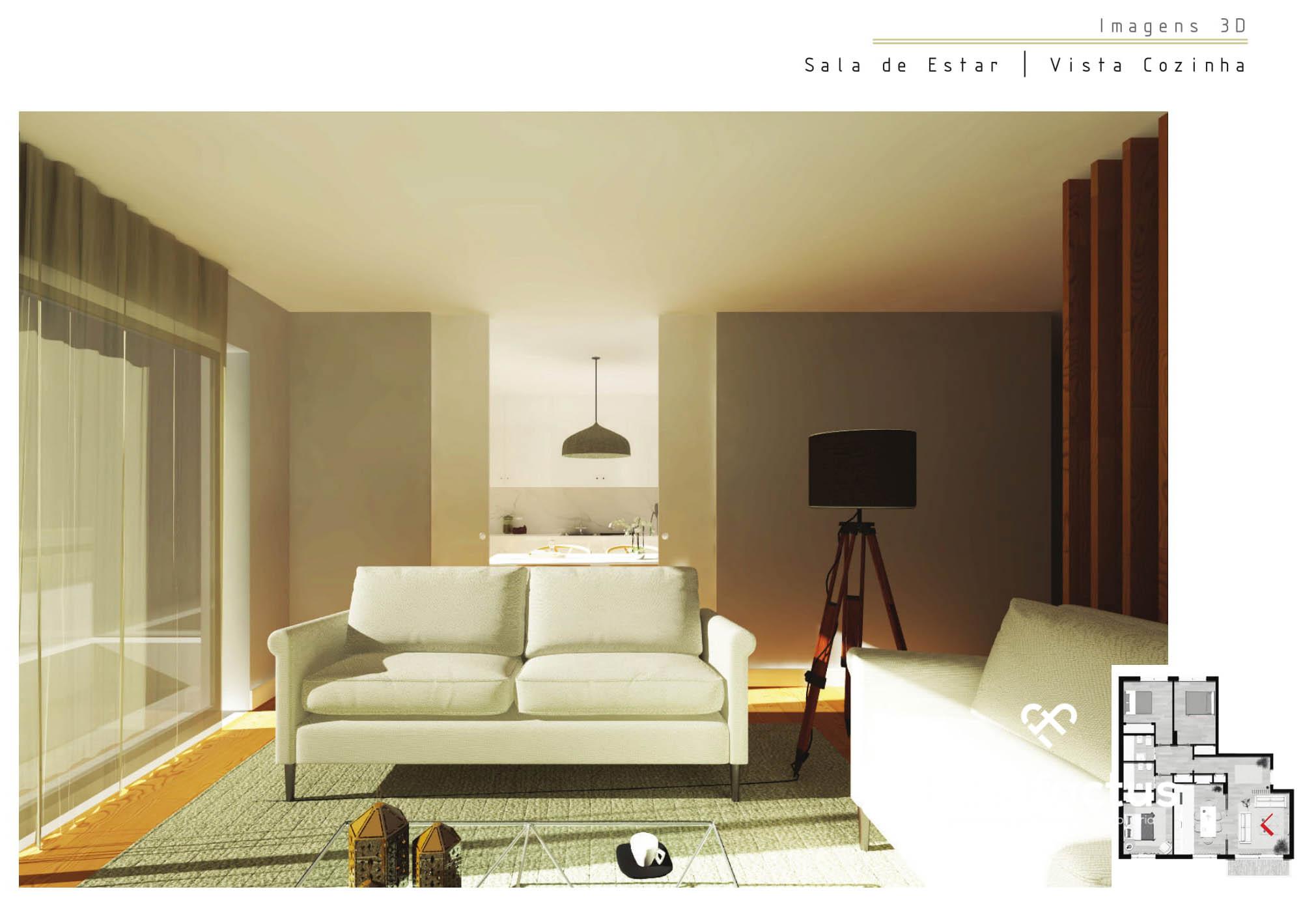 Apartamentos novos a 100 m do Rossio de Viseu