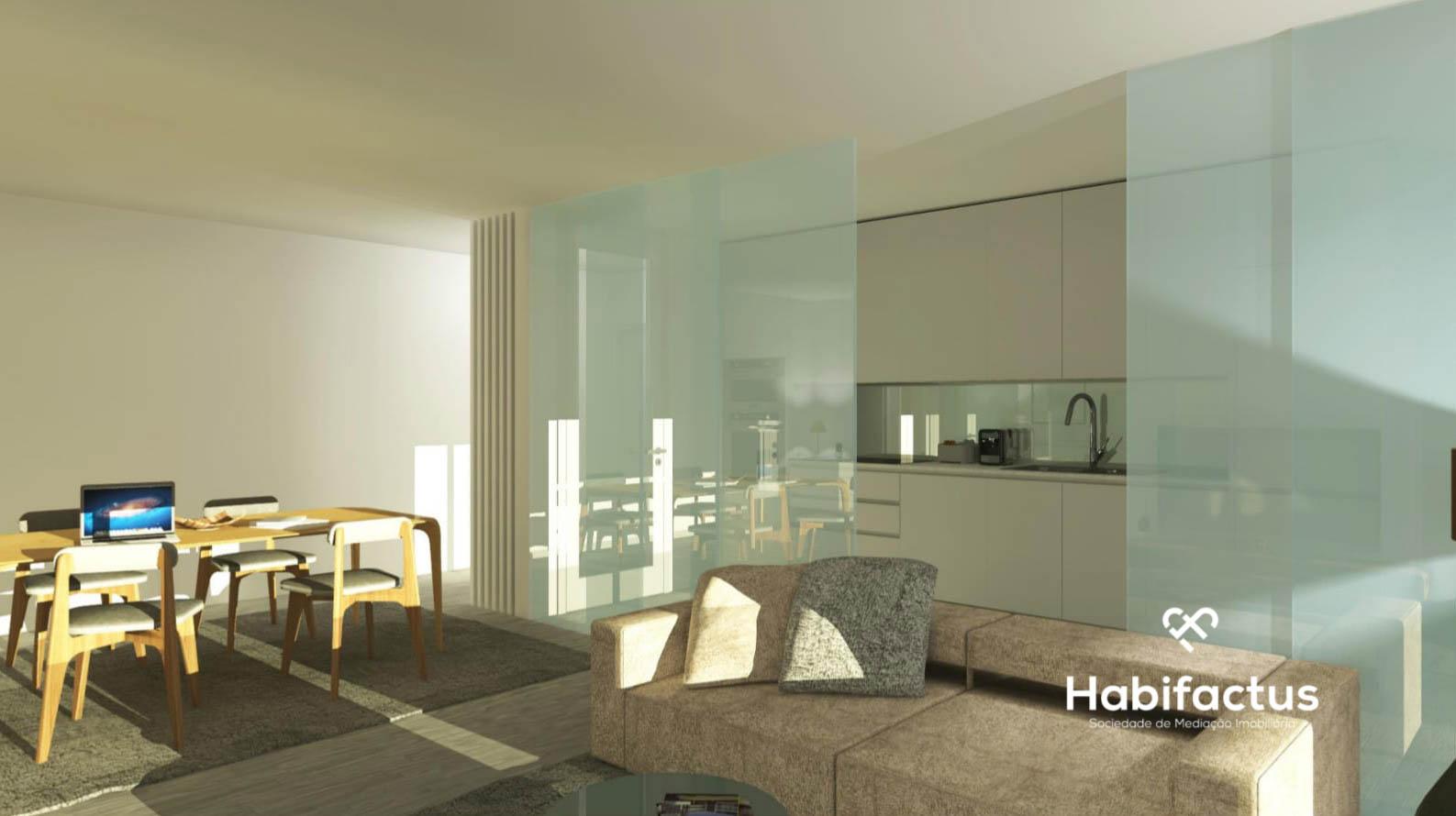 Apartamentos com acabamentos ultra-modernos