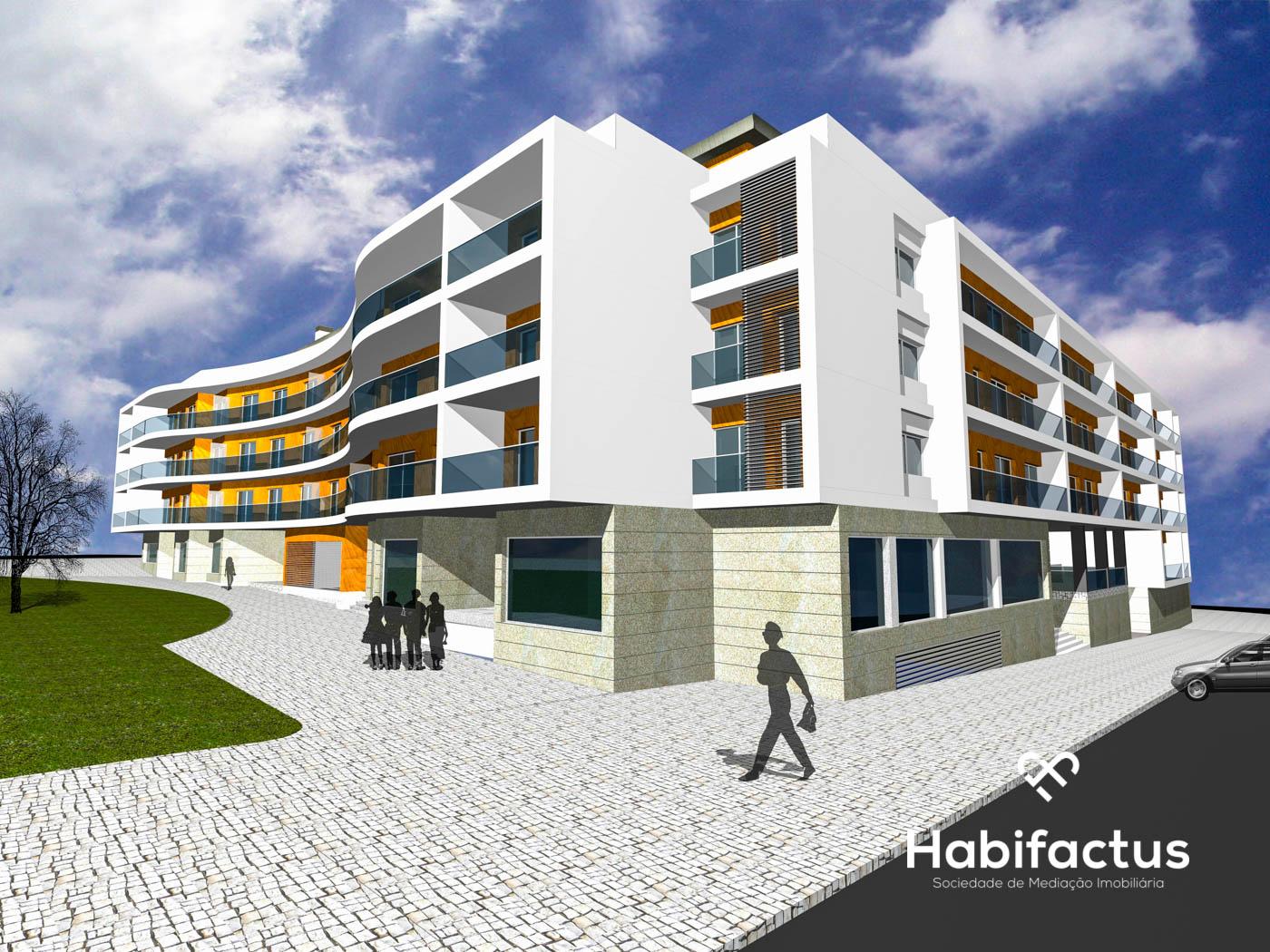 Apartamentos novos com vistas para a cidade